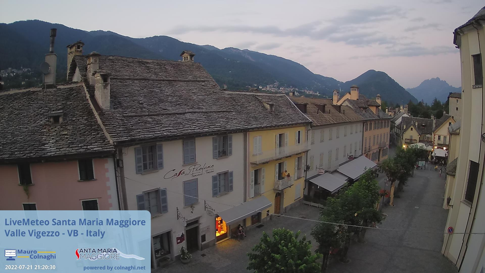 Valle Vigezzo (Santa Maria Maggiore), ingresso nord del Parco